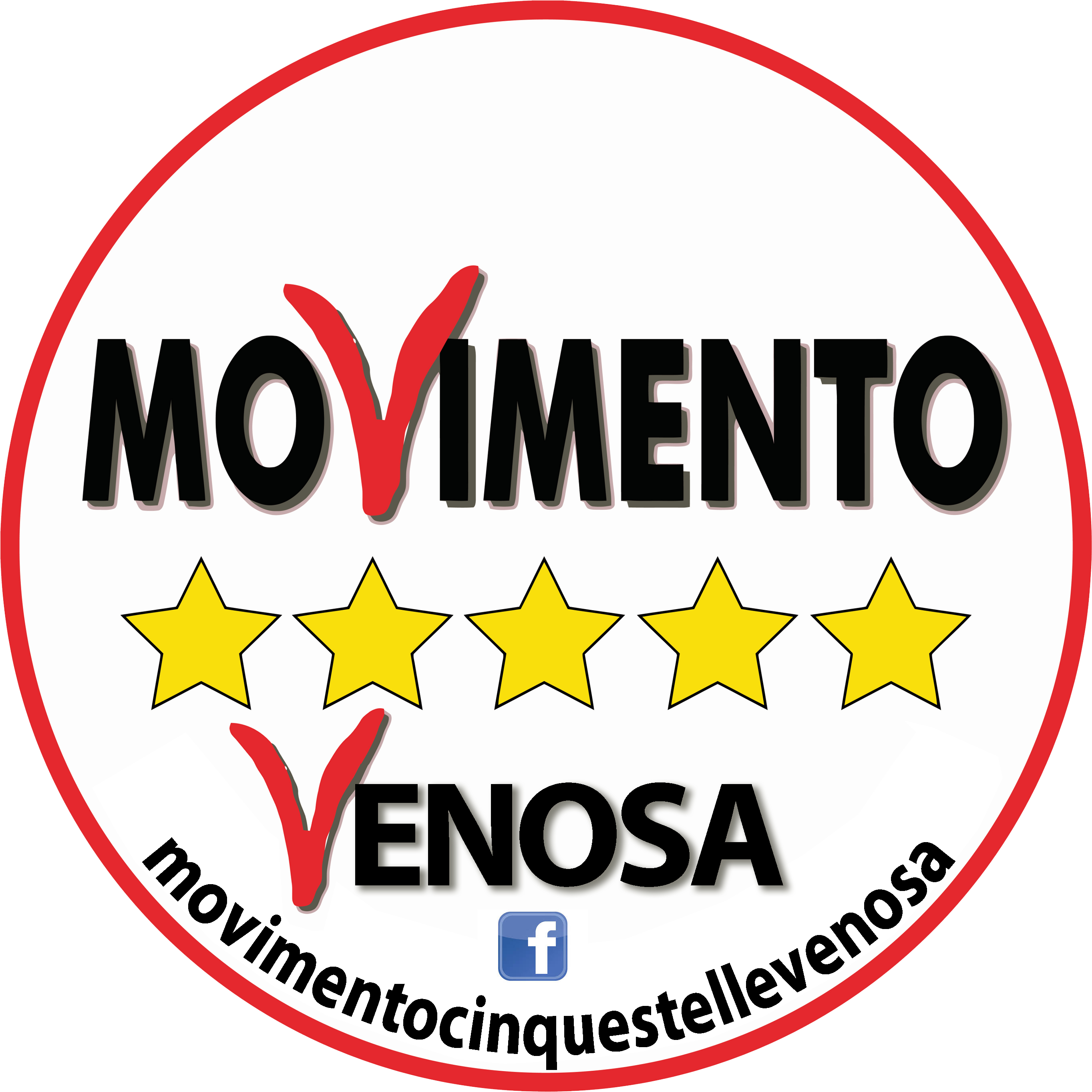 Logo movimento 5 stelle venosa net