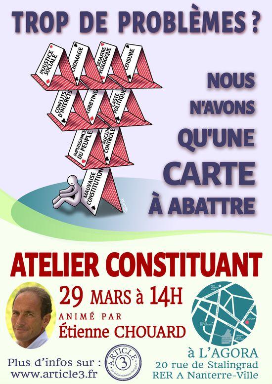 Ateliers constituants du 29 mars 2014