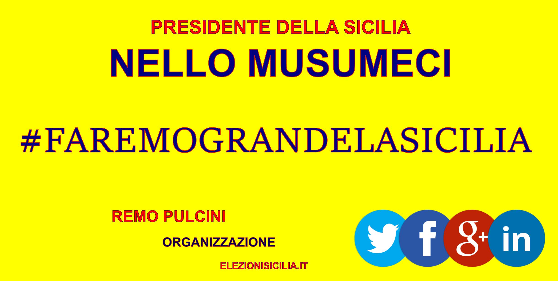 #FAREMOGRAZIELASICILIA DI REMO PULCINI SICILIA 3.0. ELEZIONI