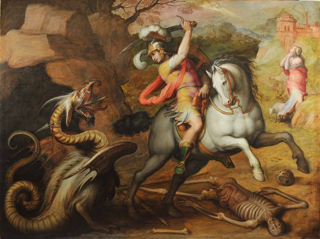 136san giorgio e il drago