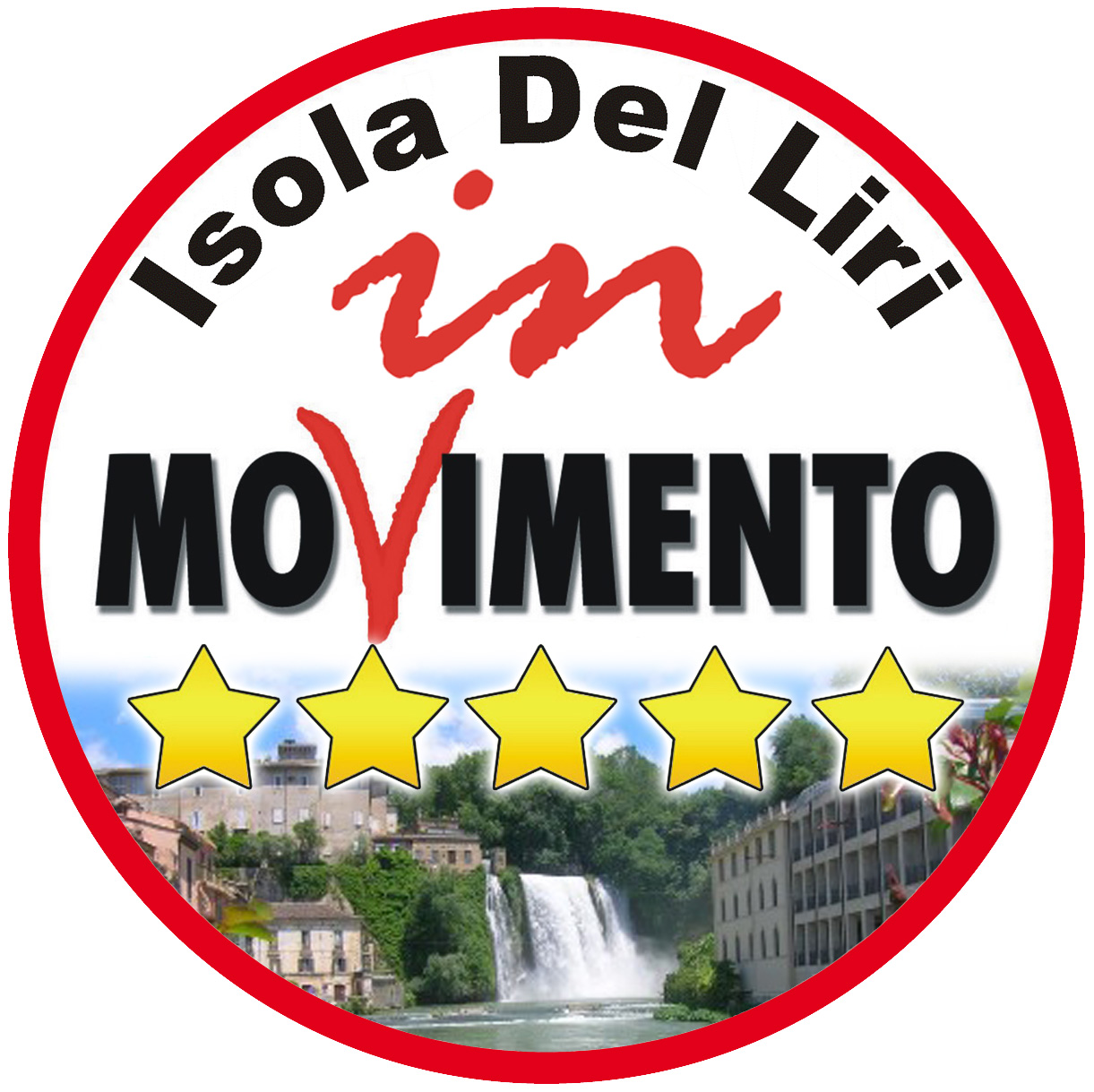 Isola in movimento