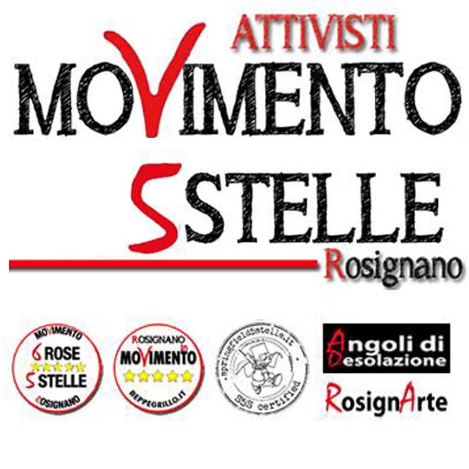 Attivisti Movimento 5 Stelle Rosignano