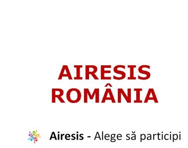 Logo airesis romania